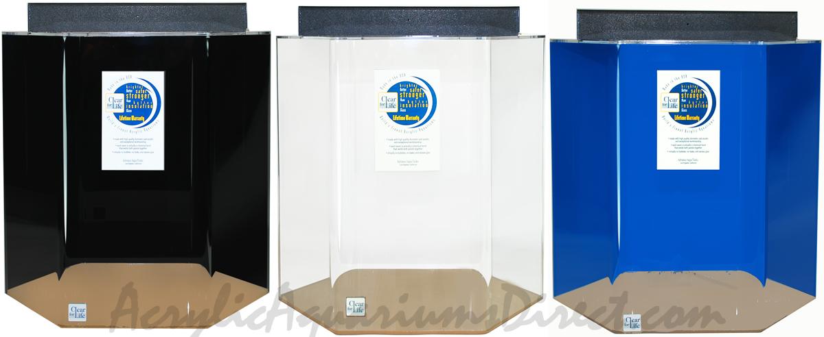 55 gallon acrylic hexagon aquarium 24x25 acrylic for 55 gallon hexagon fish tank