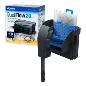 Aqueon quietflow 30 200gph hang on filter acrylic for Fish tank filter pump walmart