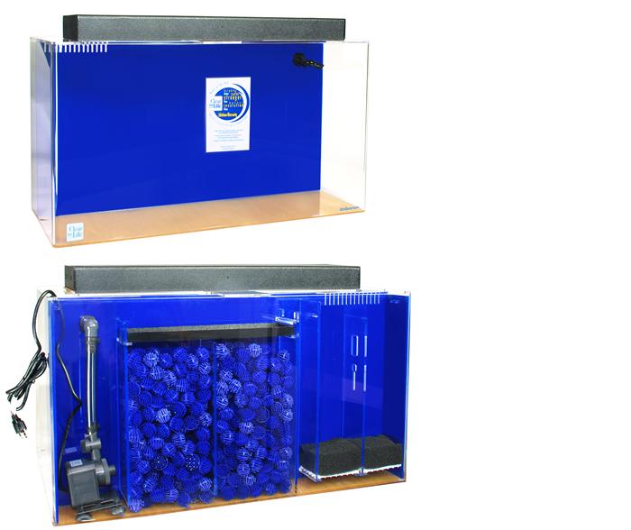 125 Gallon Acrylic Rectangle UniQuarium Aquarium 60x18x24 Acrylic ...