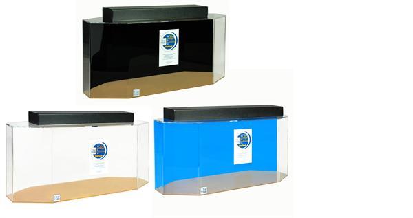 20 gallon acrylic octagon aquarium 30x13x16 acrylic for Octagon fish tank with stand