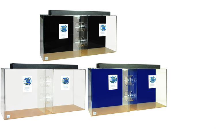55 gallon acrylic tube aquarium 48x13x24 acrylic for Tube fish tank
