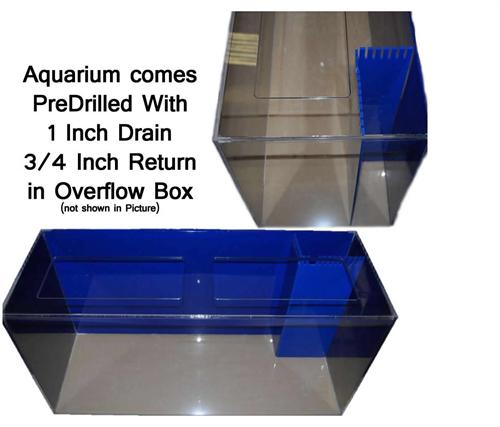 75 Gallon Acrylic Aquarium 48x15x24